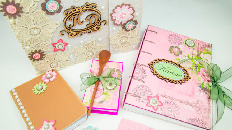 Cartonagem e Scrapbooking